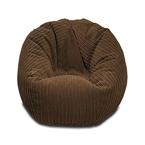 Gilda | Kids Beanbag Children's Classic Soft & Comfy Jumbo Corduroy Bean Chair Filled With Virgin Beans Beautiful Bed/Living Room Accessory Ideal Present Delivered Filled