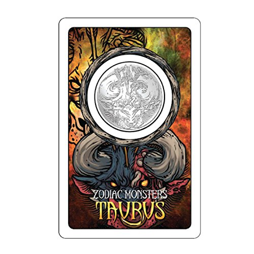 Taurus Monster Silver Coin (Coin Card Silver)