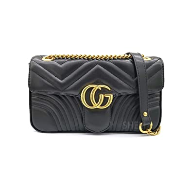 04bae3552286 Women Fashion Shoulder Bag Jelly Clutch Leather Handbag Quilted Crossbody  Bag with Chain