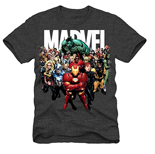 Marvel Comics Avengers Logo Men's T-shirt