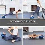 Kalovin Pilates Ball, Mini Exercise Ball, Barre