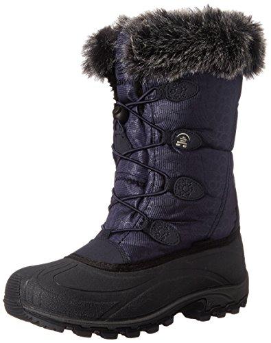 Kamik Women's Momentum Insulated Winter Boot, Navy, 6 M US