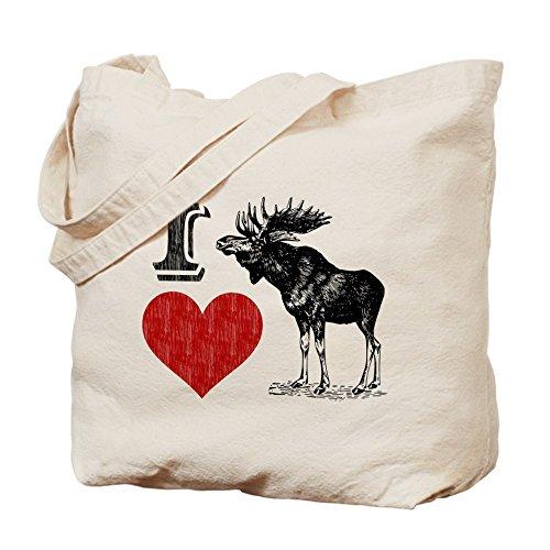 I Love - CafePress bolso de mano bolso de totalizador de alce