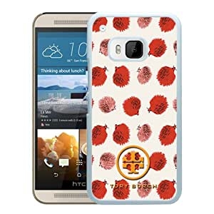 Beautiful And Unique Designed Case For HTC ONE M9 With Tory Burch 10 White Phone Case