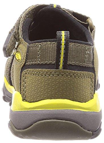 Keen Newport Neo H2 1018433 Boys Sandals Dark Olive/Celery PyRC1WXK