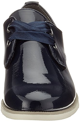 Marco Tozzi Damen 23201 Derbys blau (navy patent)