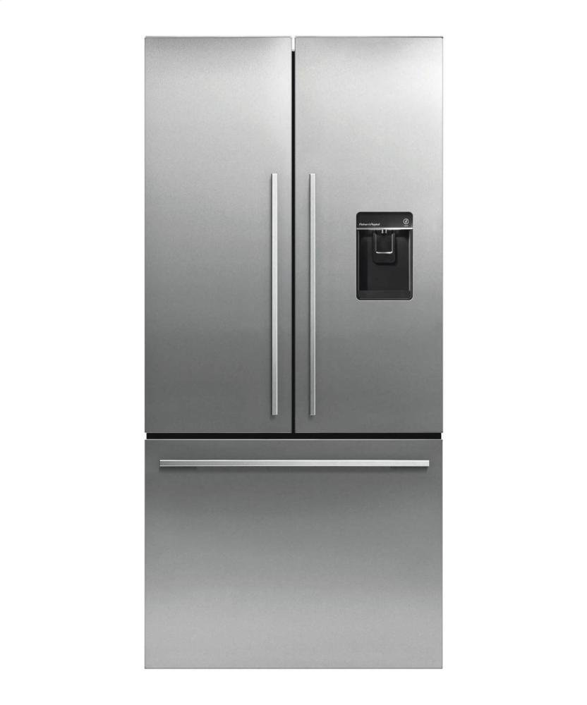 Fisher and paykel french door fridge reviews - Amazon Com Fisher Paykel Activesmart Rf170adusx4 Counter Depth French Door Refigerator With Ice And Water 17 Cu Ft Appliances