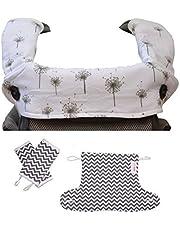 Hnybaby Baby Carrier Covers (Dandelion/Chevron)