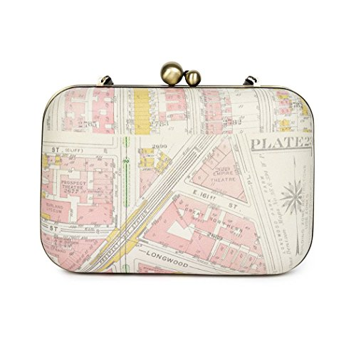 Nice Things, Borsa a spalla donna bianco bianco