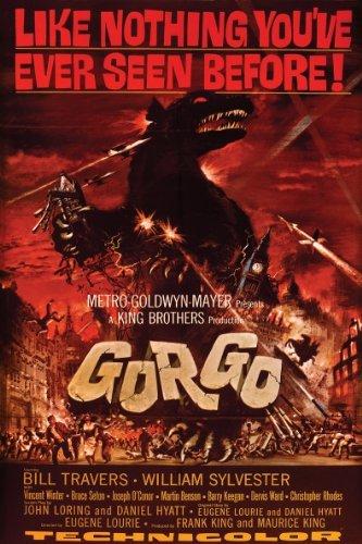 Paper Magic Gorgo Movie Poster Cling