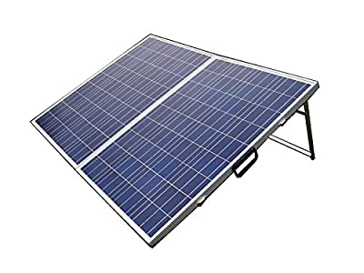 ECO-WORTHY 12 Volts 200 Watts Solar Powered Folding Portable Solar Panel for Caravan Trailer Camping RV Off Grid with 15A Solar Charge Controller