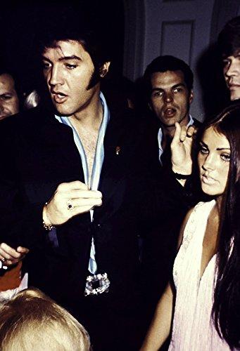 Elvis and Priscilla Presley Photo Print (8 x 10)