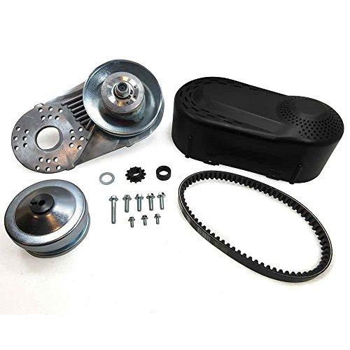 Exhaust Combo Package - Mophorn Torque Converter Go Kart Clutch Go Kart Clutch Set Torque Converter Kit (3/4