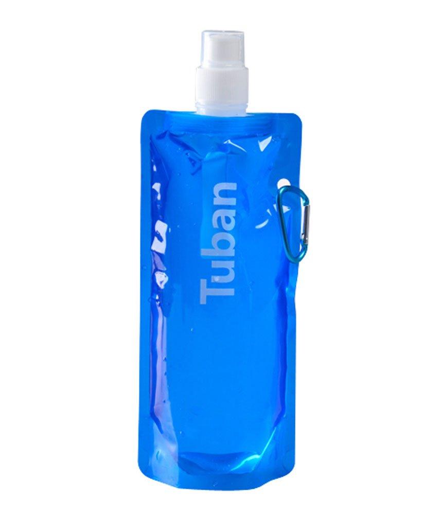 2個屋外ポータブルanti-bottleスポーツ水バッグブルー、480 ml B00XY4TXCA