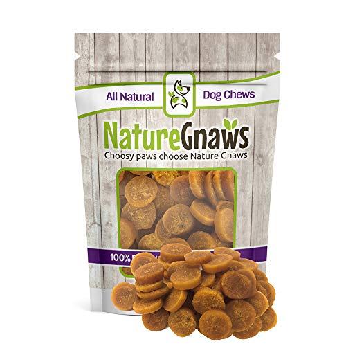Nature Gnaws Smoked Salmon & Sweet Potato Chips – 100% Natural Grain Free Dog Treats (12 oz) Review