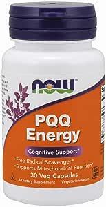 PQQ Energy 20MG Plus (30 Cápsulas Veganas) Now Fooods