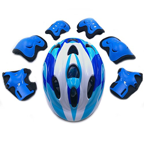 Adjustable-Helmet-Cycling-Roller-Skateboard-Elbow-Knee-Pads-Wrist-Safety-Protective-Guard-Gear-Set-for-Children-aged-5-12-years-old