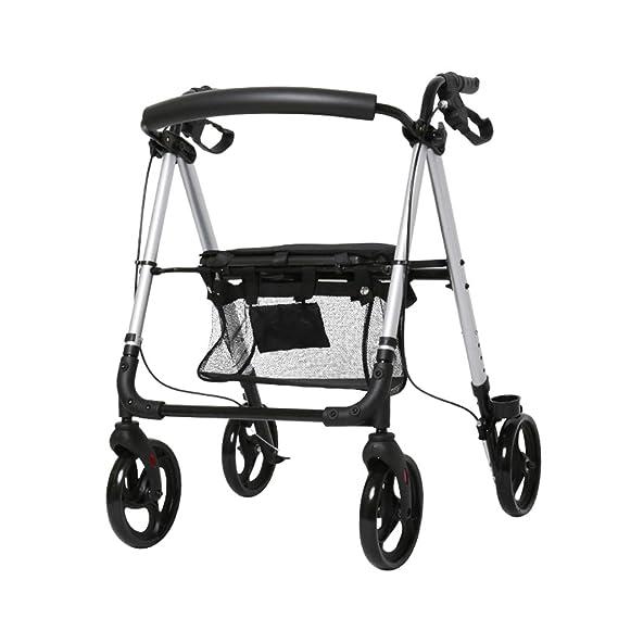 Snow Yang Andador para Ancianos Aluminio, Multiusos de ...