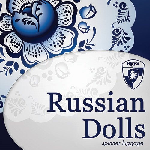. 50% SALE ... PREMIUM DESIGNER Hartschalen Koffer - Heys Core Dolls Russian Dolls - Trolley mit 4 Rollen Medium Russian Doll iLO7to6