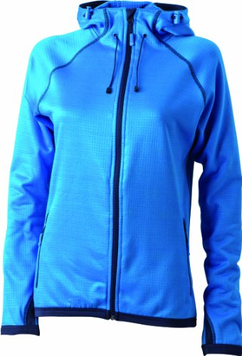 Nicholson Hooded Fleecejacke Ladies' técnica Azul mujer para amp; Chaqueta James v5BwUU