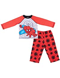 Spiderman Boys 2-piece Pajama Set-red (3T)