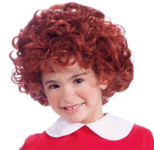 Orphan Halloween Costume (Forum Novelties Orphan Annie Child's Costume Wig)