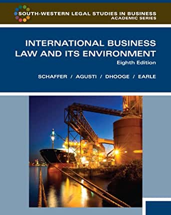 business and its environment Find great deals for business : its legal, ethical, and global environment by marianne m jennings (2014, hardcover) shop with confidence on ebay.