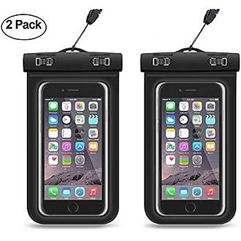 886699542d3 ATOMZONE Impermeable Celular Fundas Agua Celular PVC+ABS Funda Celular para  iPhone X/8/8 Plus/7/6/6s Plus, Samsung Note 8/S8/S8 Plus/S7/S6 y todos los  ...