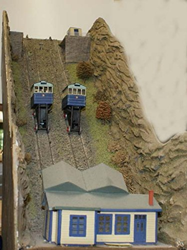 Langley Models Cliff Railway Coaches + Motor Unit OO Scale UNPAINTED Kit F161 from Langley Models