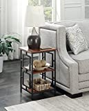 Indoor Multi-Function Accent Table Study Computer Home Office Desk Bedroom Living Room Modern Style End Table Sofa Side Table Coffee Table Metal finishing table