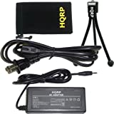 HQRP AC Adapter for Canon ACK-800 ACK800 PowerShot A500 , A510 , A520 , A530 , A540 , A550 , A560 IS Digital Cameras + Mini Tripod & Carrying Bag