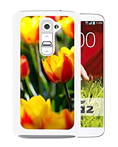 New Beautiful Custom Designed Cover Case For LG G2 With Tulips (2) Phone Case