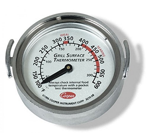 Cooper-Atkins 3210-08-1-E, Grill Surface Thermometer, 100/600 F/C, Pack of 12 pcs