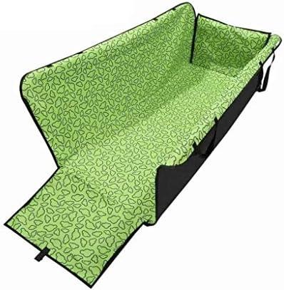 XISABCS ペットのための犬のシートカバーカーシートカバー防水ペットシートカバーハンモック600Dヘビーデューティスクラッチプルーフ滑り止め車のトラックとSUVのための耐久性のあるソフトペットのバックシートカバー