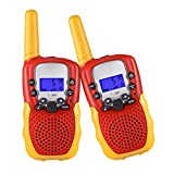 SnowCinda Toys for 3-12 Year Old Boys,Walkie Talkies for Kids with 22 Channels
