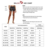 BALEAF Women's 3 Inches High Waisted Seamless