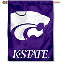 Kansas State University Wildcats House Flag