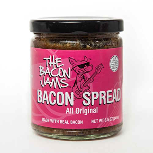 Bacon Spread - The Bacon Jams All Original - 8.5 oz Jar - USDA Certified - Made With Real Bacon