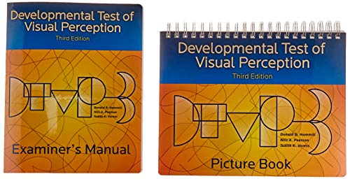 Developmental Test of Visual Perception (DTVP-3), Complete Kit
