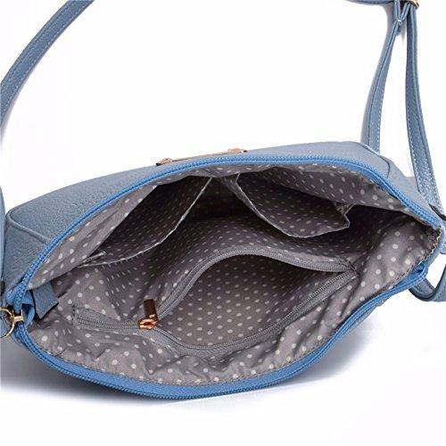 Aassddff Donne Patchwork A Design Crossbody Rosa Di Blu Borse Flap Tracolla Marchio Famoso Fionda Piccolo Tracolla Mini Bag rB40rXqgy