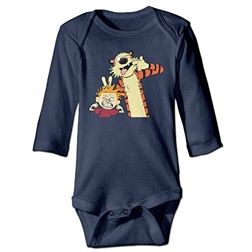 - Calvin And Hobbes Long Sleeve Newborn Bodysuit
