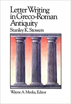 Book Letter Writing in Greco-Roman Antiquity (Library of Early Christianity)