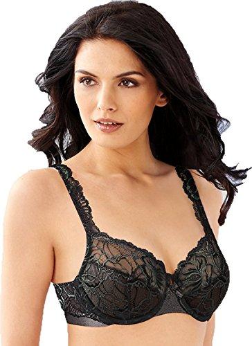 Bali Lace Desire Underwire (6543) Black, 40D