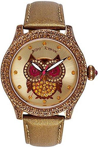 Betsey Johnson Women's BJ00019-57 Analog Owl Graphic Dial Watch