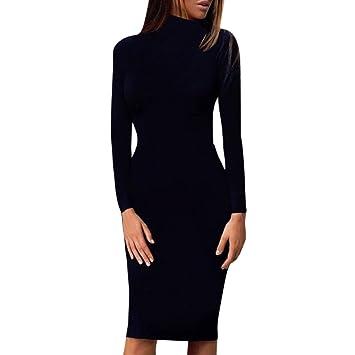 Casual Long Sleeve Dresses Knee Lengt