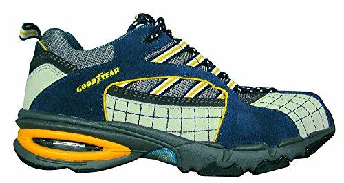 Goodyear – Chaussures De Sécurité G1382400 G4000 S1P HRO Pointe En Acier Inox – Taille : 48