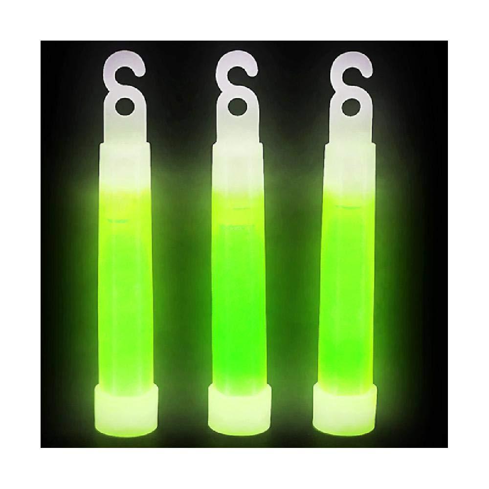 Bargain World 10,2 cm Glow stick Necklace (scegliere il colore) (con foglietti adesivi) Lyndee