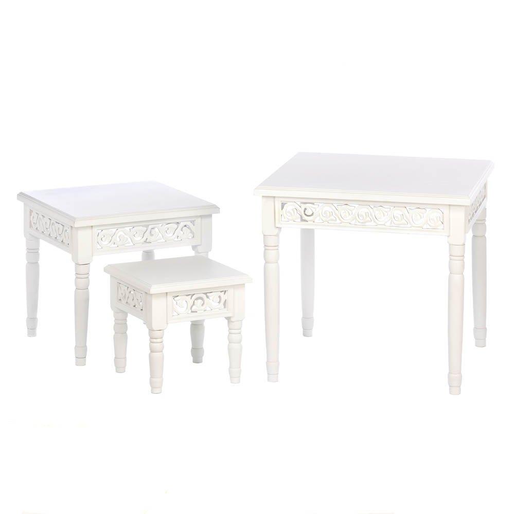 Home Locomotion Floret Nesting Table Trio