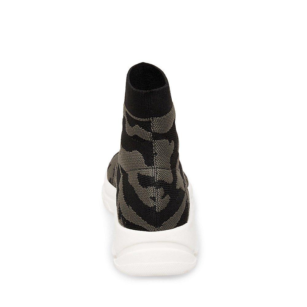 Steve Madden Women's Bitten Sneaker B07BMFM383 6 B(M) US|Camouflage