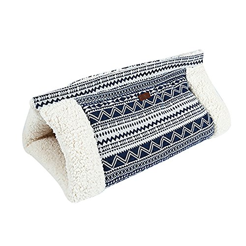 Roblue Cat Rustling Sack Functional Winter Warm Cat Pet Cave Mat 1Pcs by Roblue